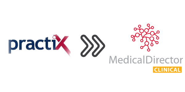 Conversion tool from PractiX to Medical Director Clinical Completed - Scriptsoft